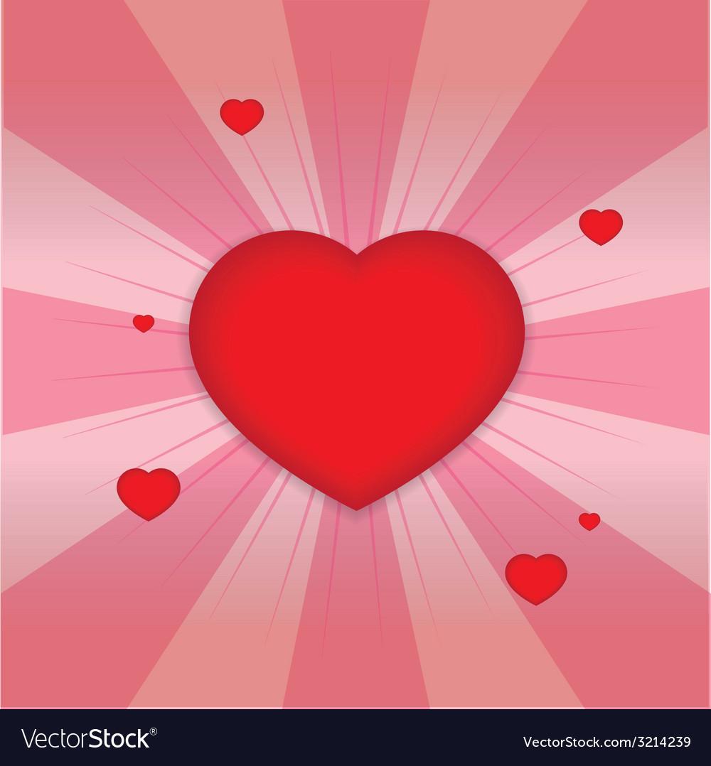 Shiny hearts shape vector | Price: 1 Credit (USD $1)