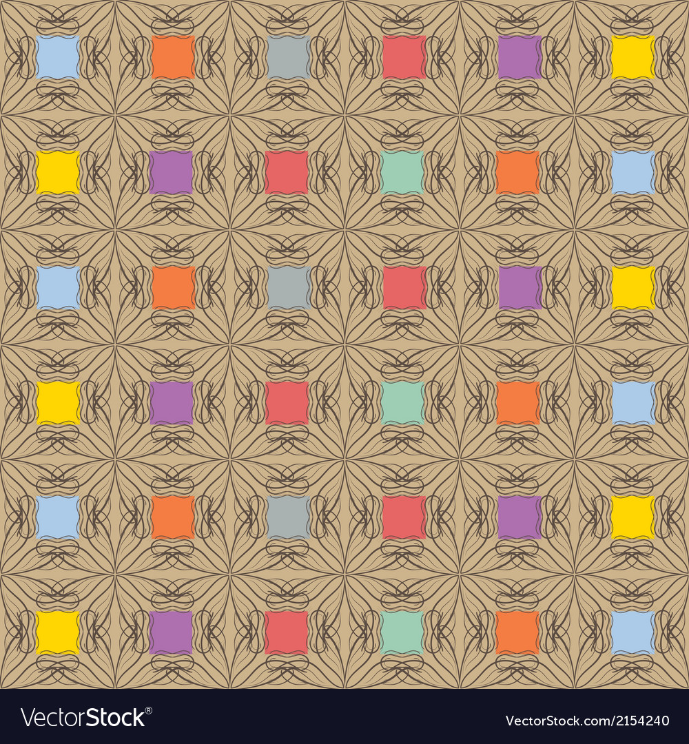 Aboriginal abstract pattern vector | Price: 1 Credit (USD $1)