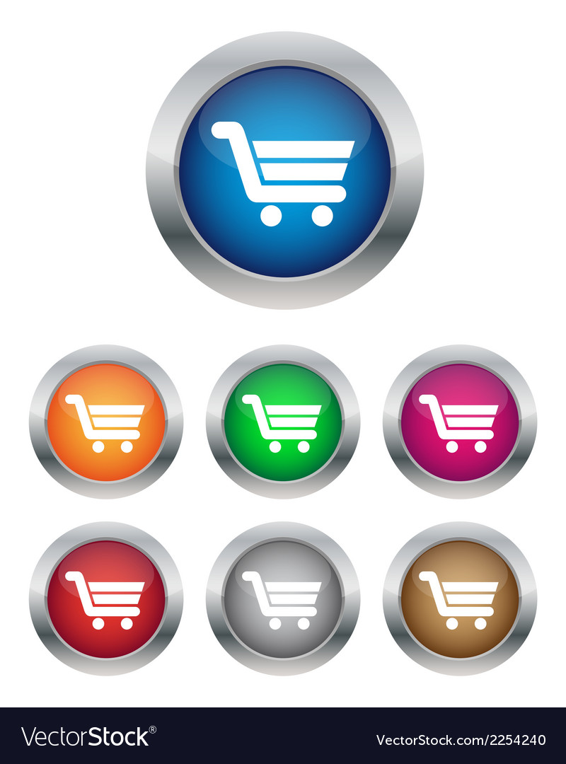 Buy now or add to cart buttons vector | Price: 1 Credit (USD $1)
