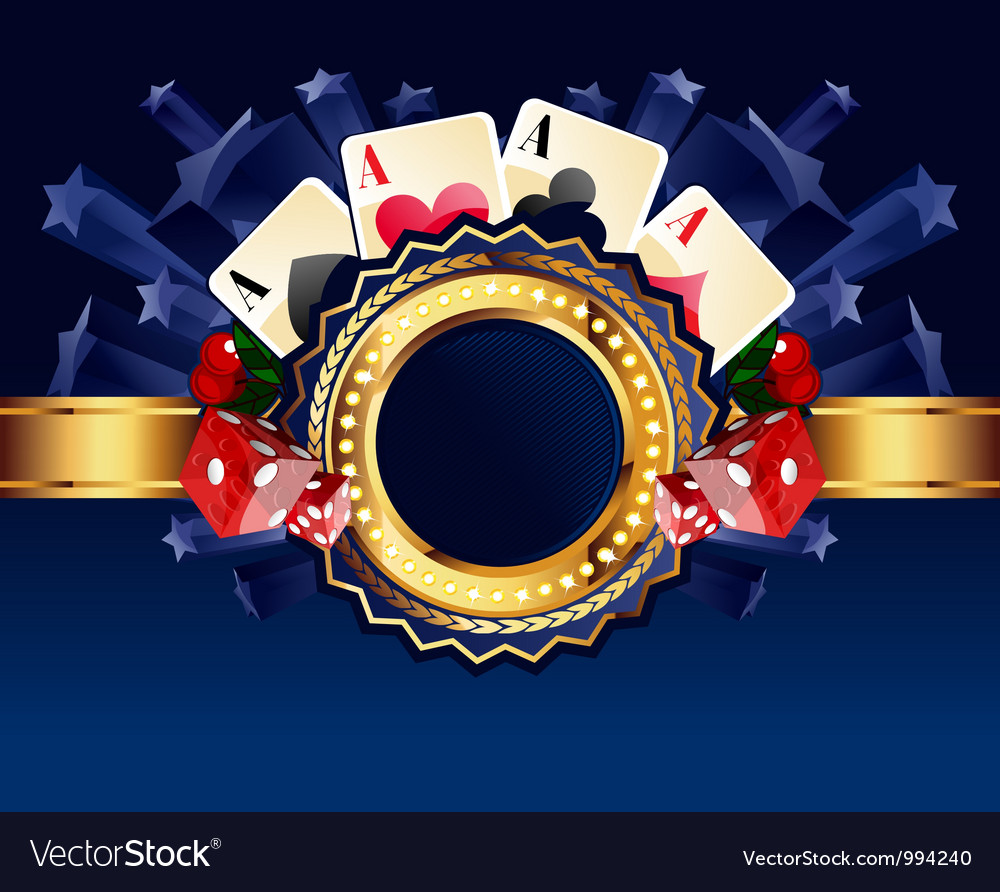 Casino background vector | Price: 3 Credit (USD $3)