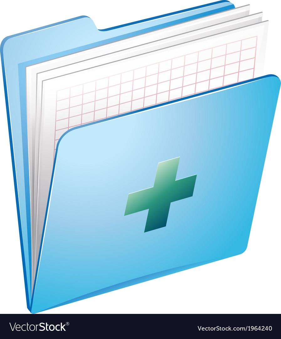 Medical files vector | Price: 1 Credit (USD $1)