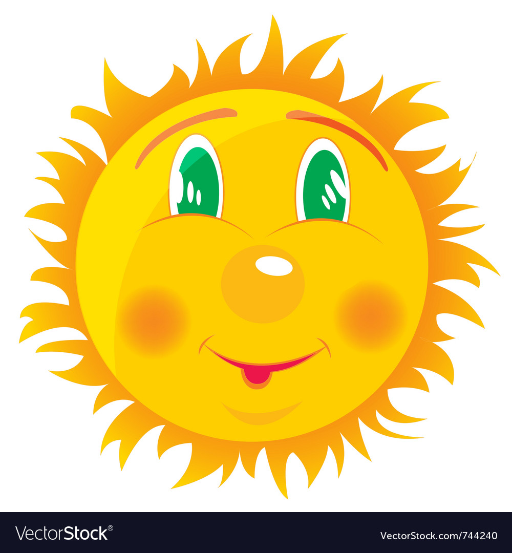 Merry sun vector | Price: 1 Credit (USD $1)