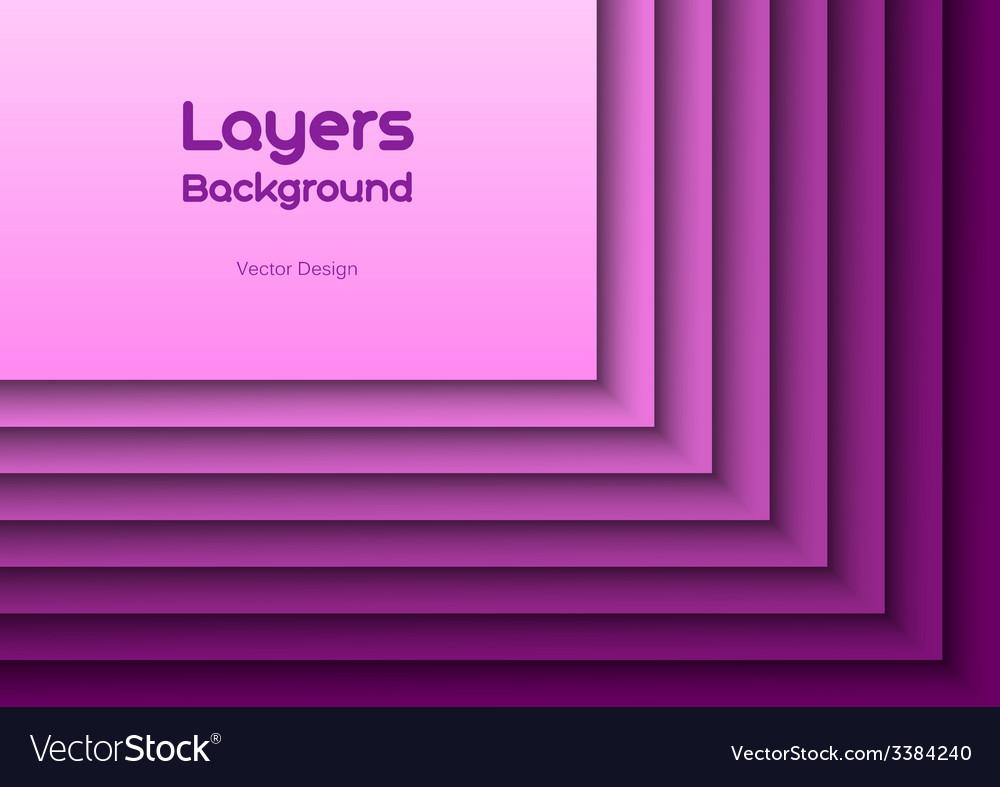 Purple layeres vector | Price: 1 Credit (USD $1)