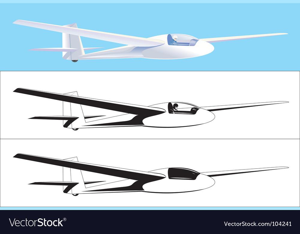 Glider vector | Price: 1 Credit (USD $1)