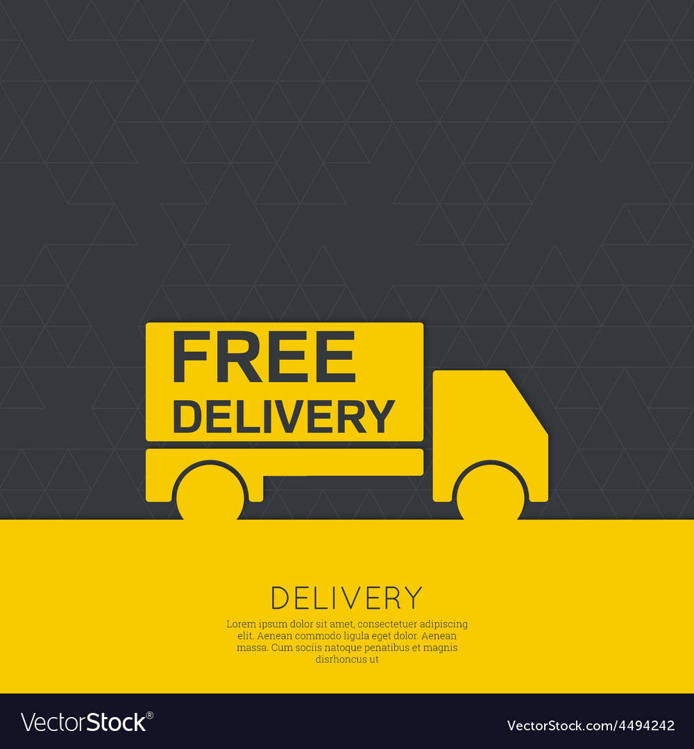 Freight transport vector | Price: 1 Credit (USD $1)