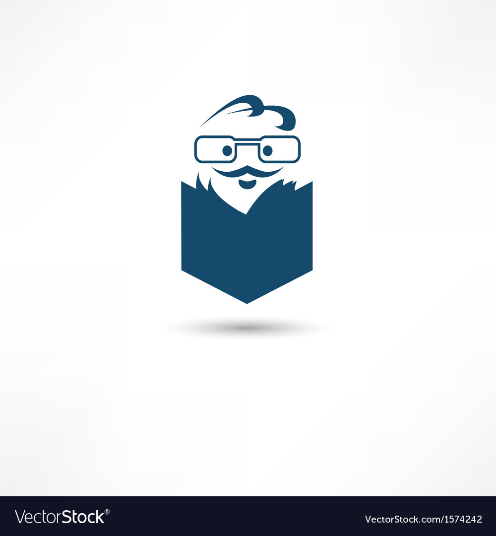 Reader icon vector | Price: 1 Credit (USD $1)
