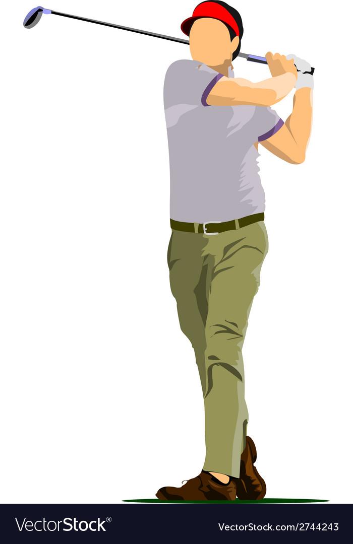 Al 0612 golfer 02 vector   Price: 1 Credit (USD $1)