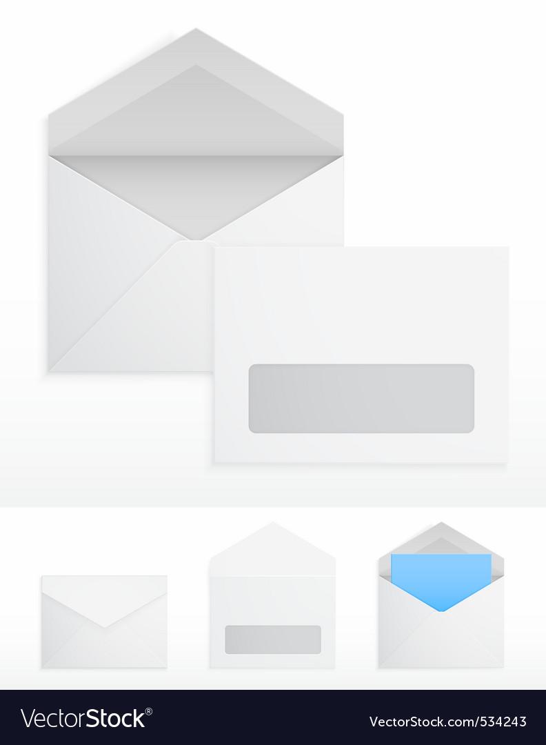Blank envelops vector | Price: 1 Credit (USD $1)