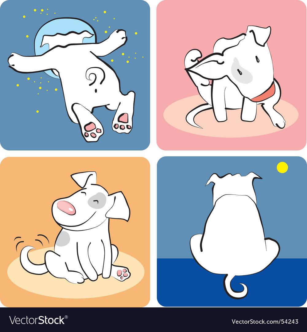 Puppy sketch vector | Price: 1 Credit (USD $1)