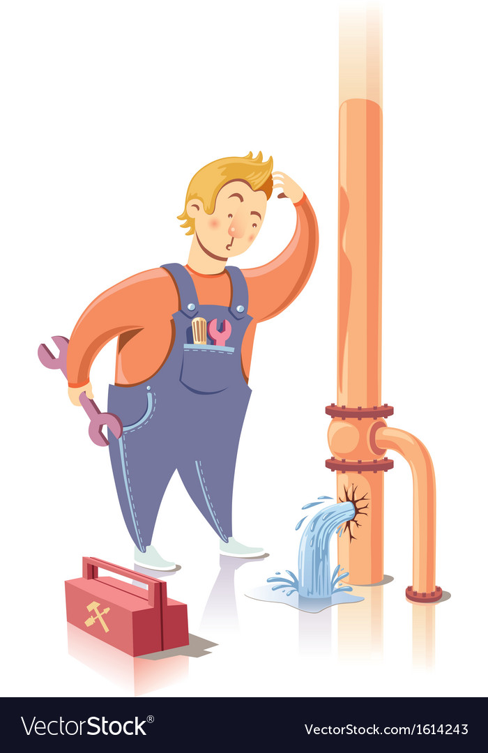 Repairman vector | Price: 3 Credit (USD $3)