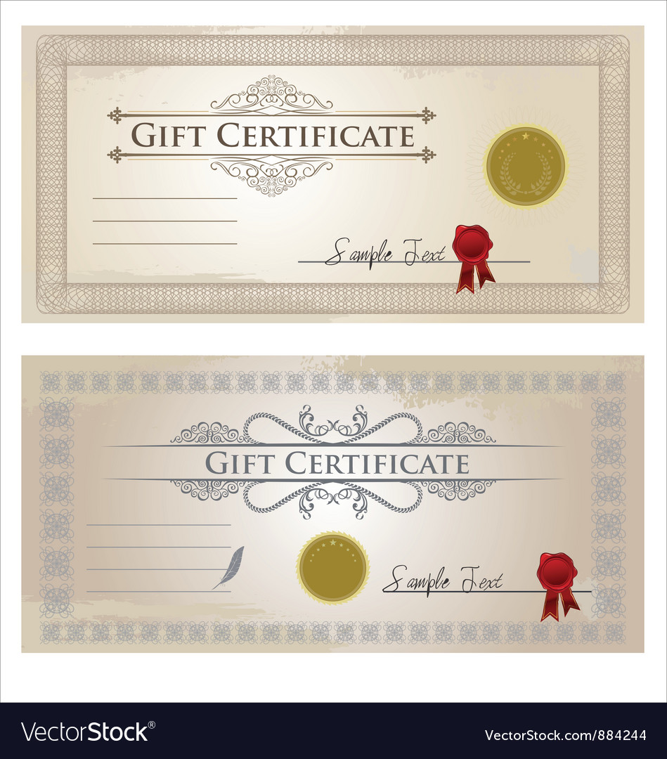 Certificate frame vector | Price: 1 Credit (USD $1)