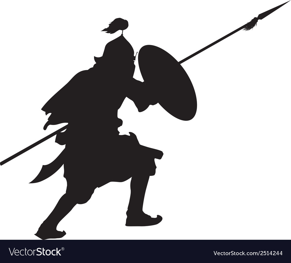Oriental warrior vector | Price: 1 Credit (USD $1)