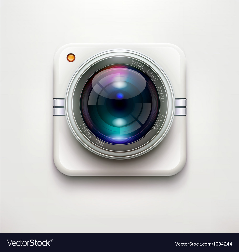Security camera vector