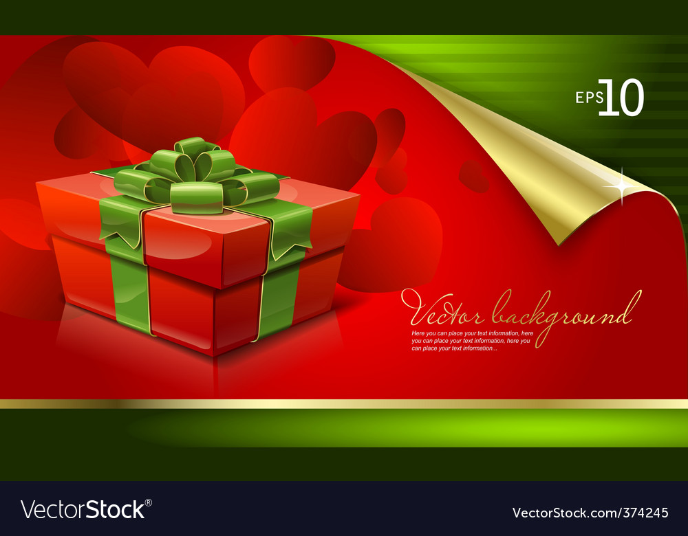 Christmas card background vector | Price: 3 Credit (USD $3)