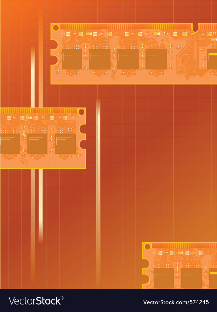 Electronic memory vector | Price: 1 Credit (USD $1)