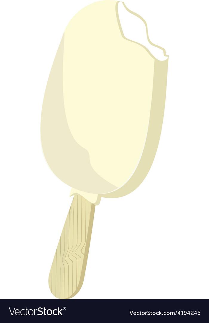 Vanilla ice cream vector | Price: 1 Credit (USD $1)
