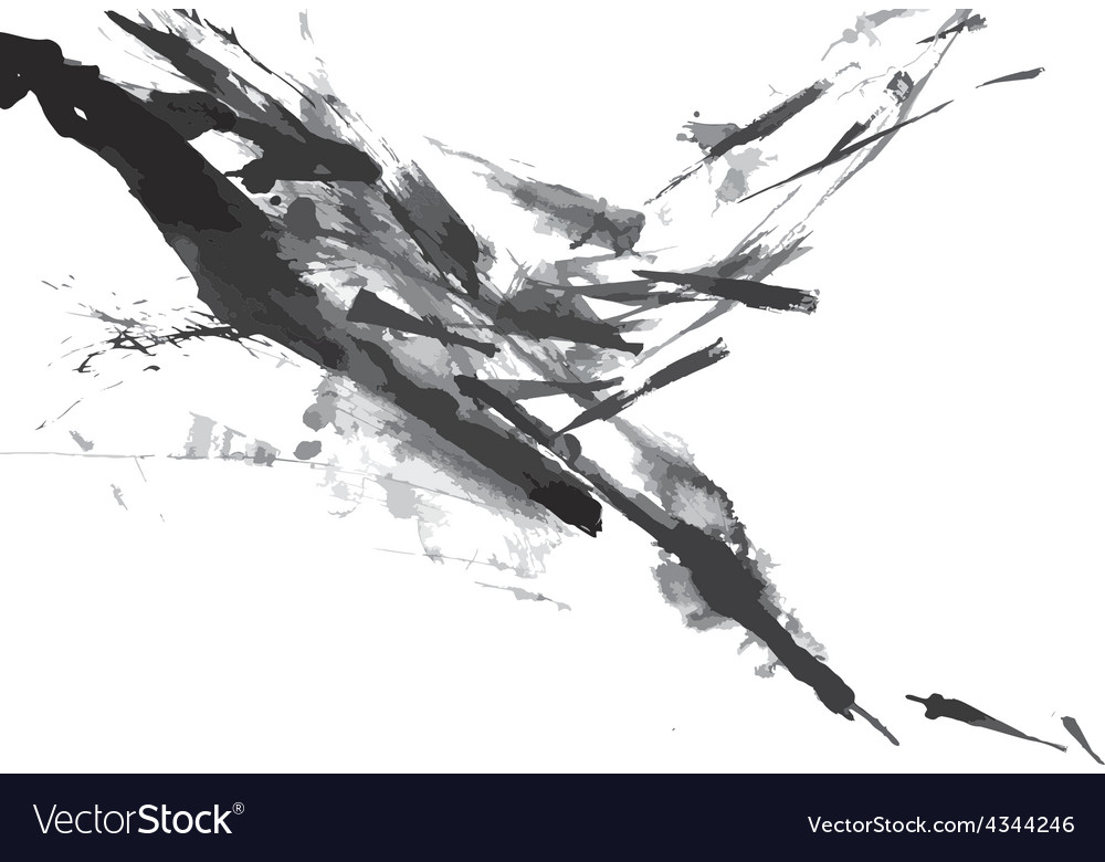 Abstract ink paint background vector | Price: 1 Credit (USD $1)