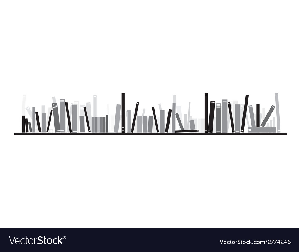 Books on the shelve vector   Price: 1 Credit (USD $1)