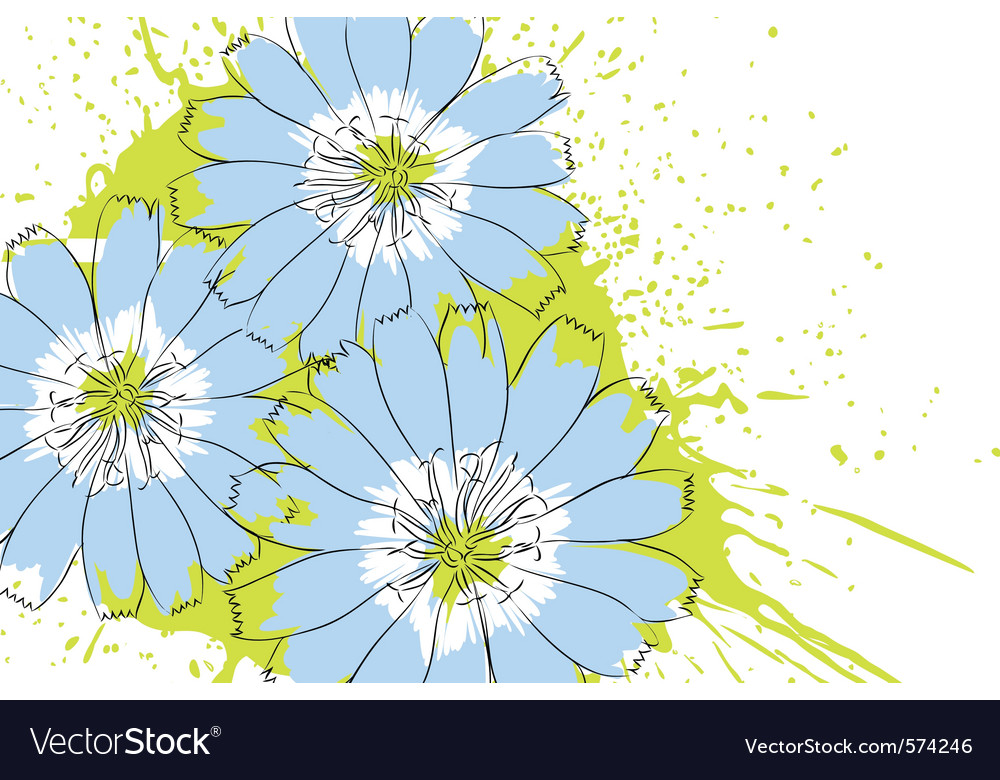 Nature flower vector | Price: 1 Credit (USD $1)