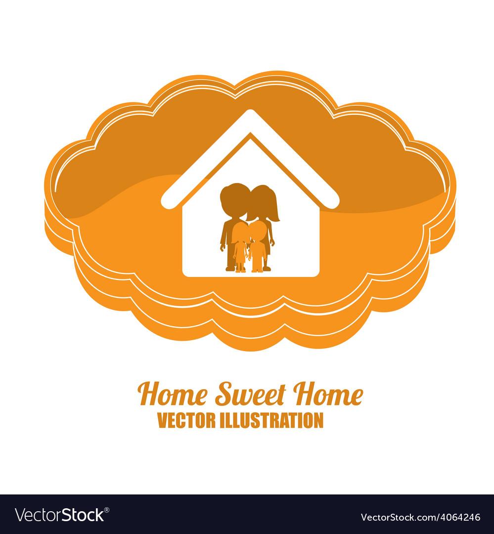 Sweet home design vector   Price: 1 Credit (USD $1)