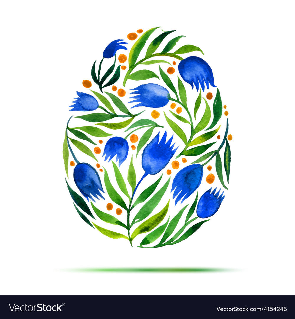 Template for easter greeting card or invitation vector | Price: 1 Credit (USD $1)