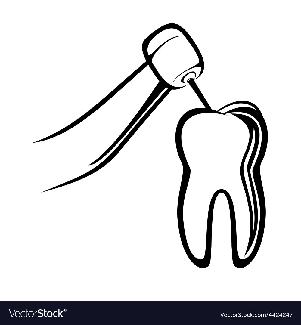 Dentist drill vector | Price: 1 Credit (USD $1)