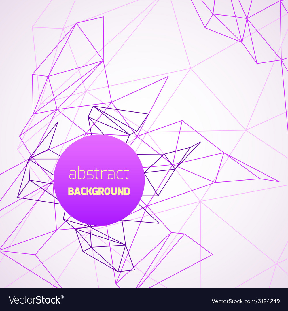 Geometrical background with purple lines vector | Price: 1 Credit (USD $1)