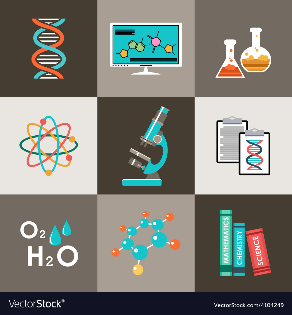 Science set infographic vector | Price: 1 Credit (USD $1)