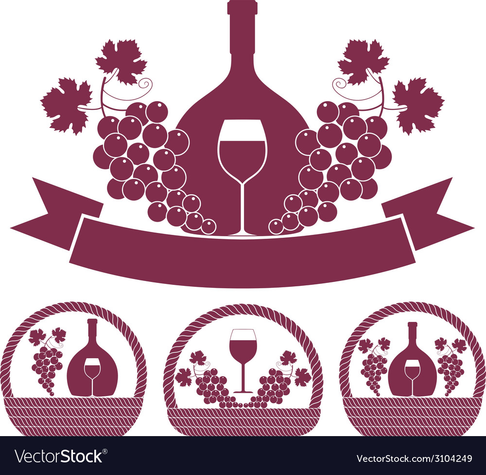 Wine vector   Price: 1 Credit (USD $1)