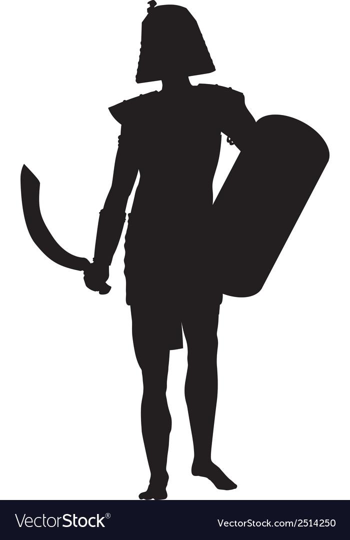 Persian warriors theme vector | Price: 1 Credit (USD $1)