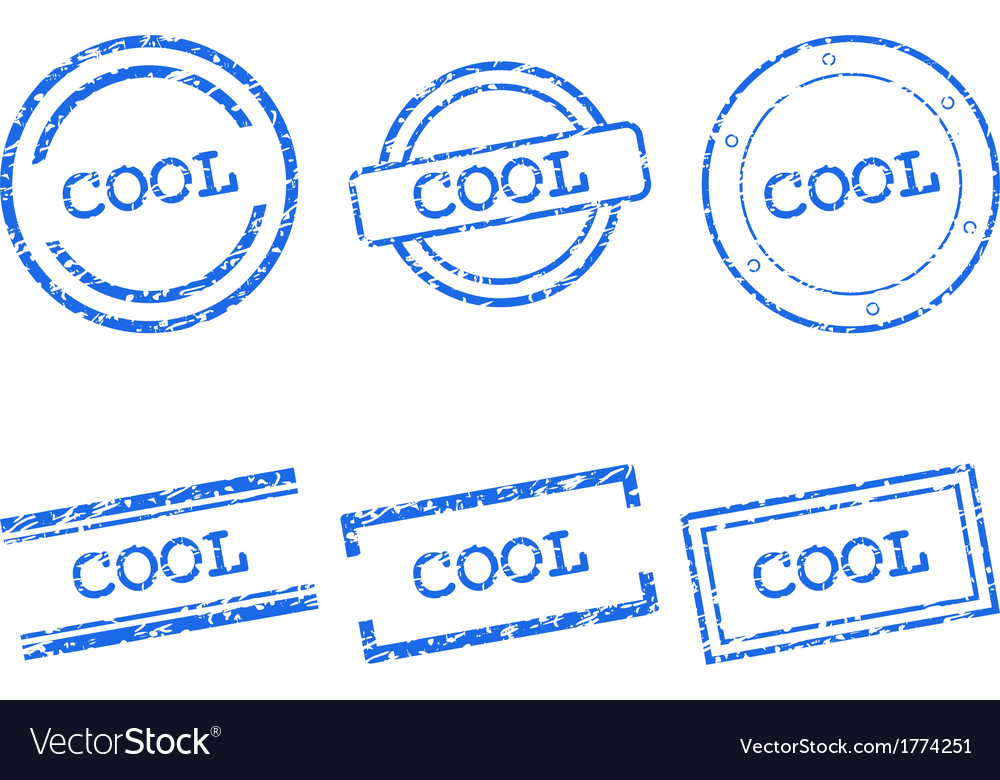 Cool stamps vector | Price: 1 Credit (USD $1)
