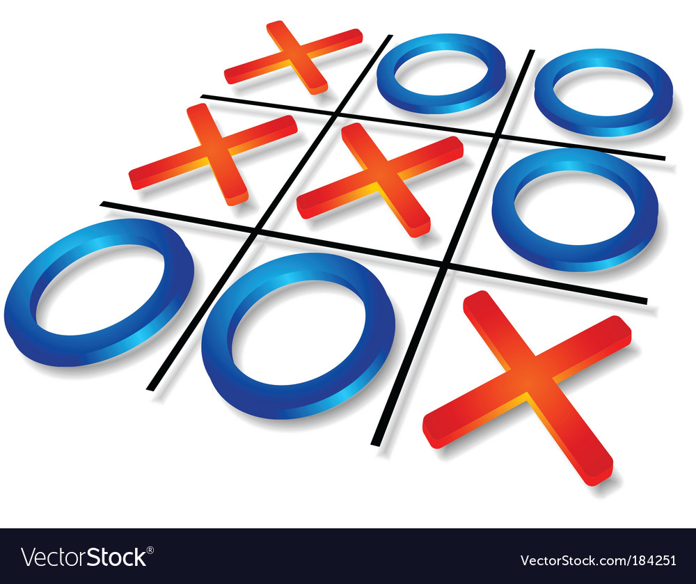 Tic-tac-toe vector | Price: 1 Credit (USD $1)