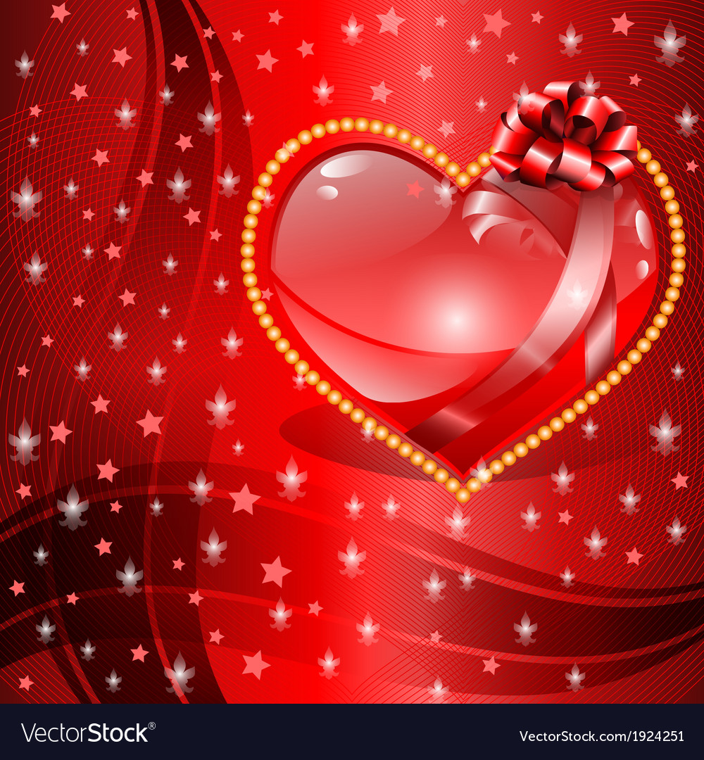 Valentines day background vector   Price: 1 Credit (USD $1)