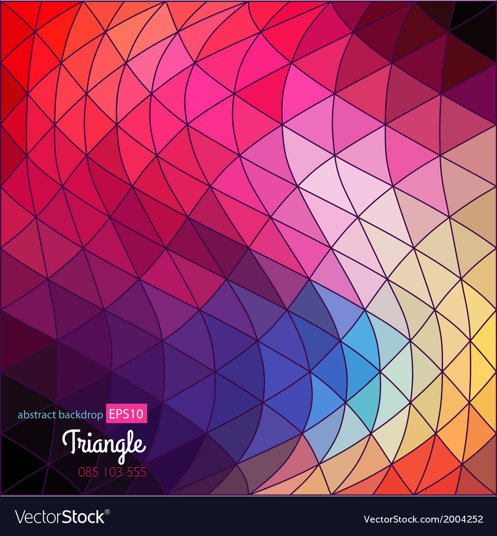 Background geometric abstract texture retro vector | Price: 1 Credit (USD $1)