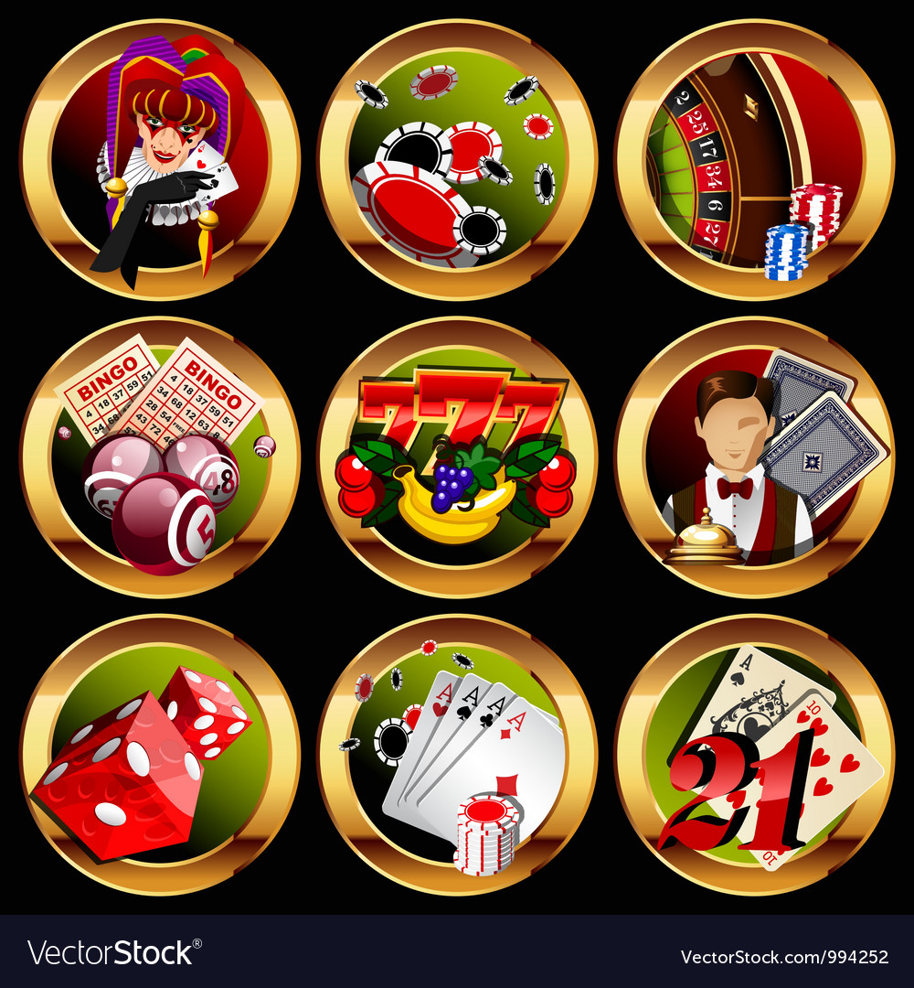 Gambling vector | Price: 5 Credit (USD $5)