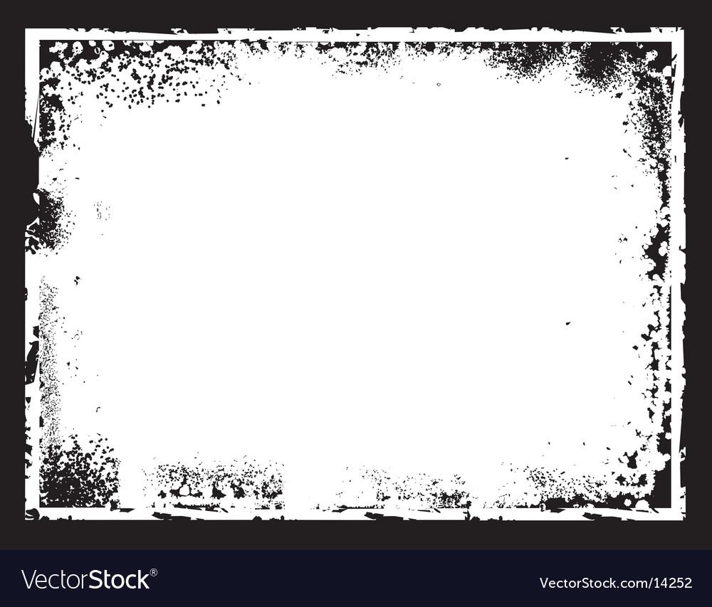 Grunge border frame vector | Price: 1 Credit (USD $1)