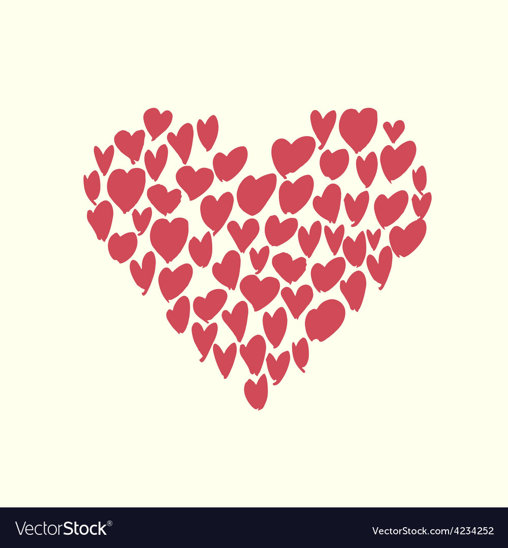 Heart shaped vector | Price: 1 Credit (USD $1)