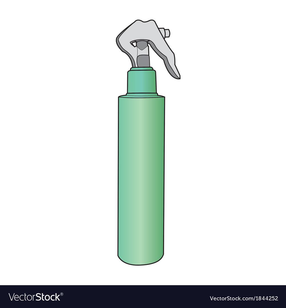 Spray bottle vector | Price: 1 Credit (USD $1)