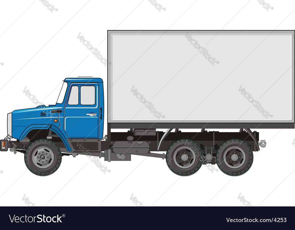Heavy truck vector | Price: 3 Credit (USD $3)