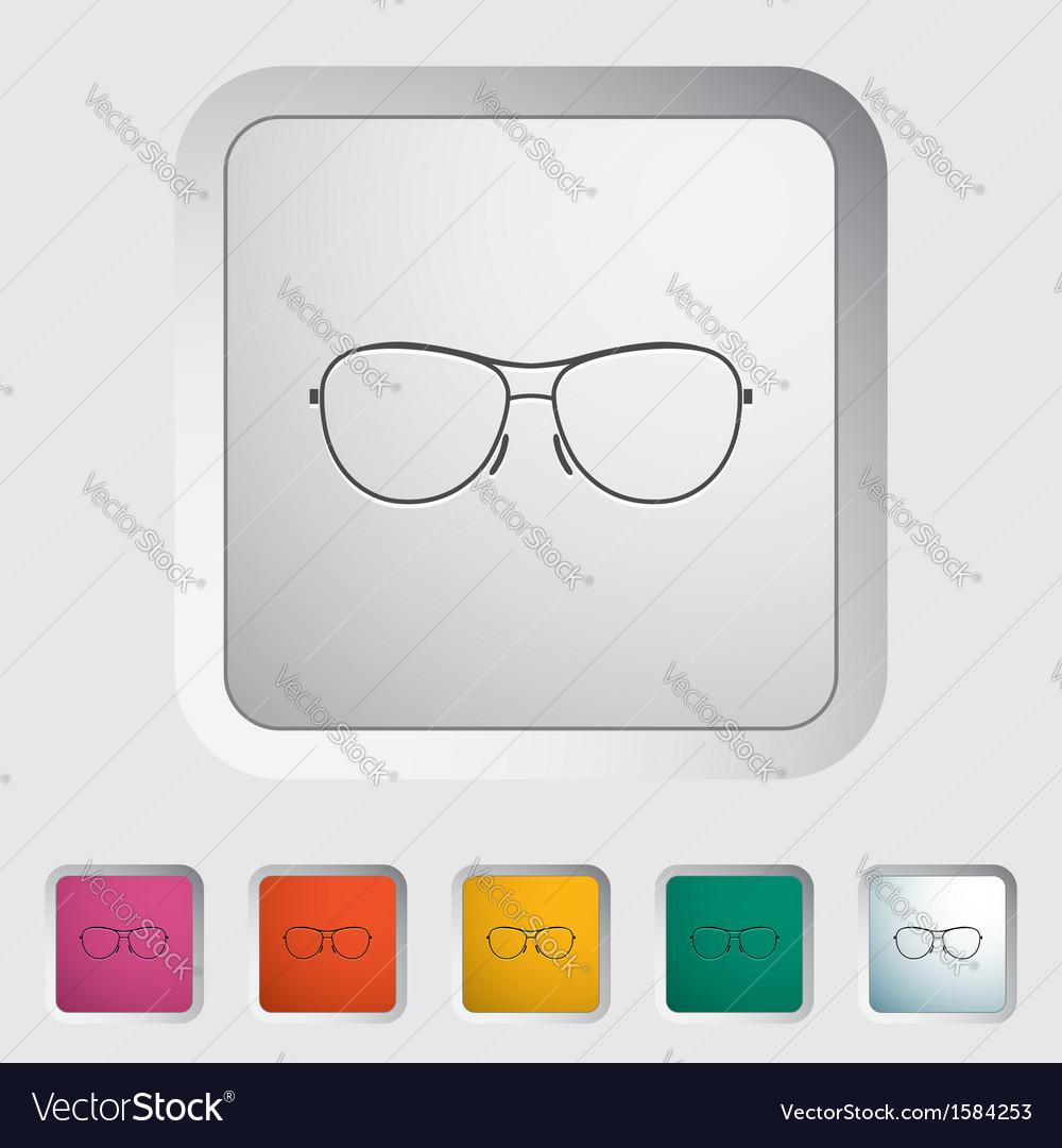 Sun glasses vector | Price: 1 Credit (USD $1)