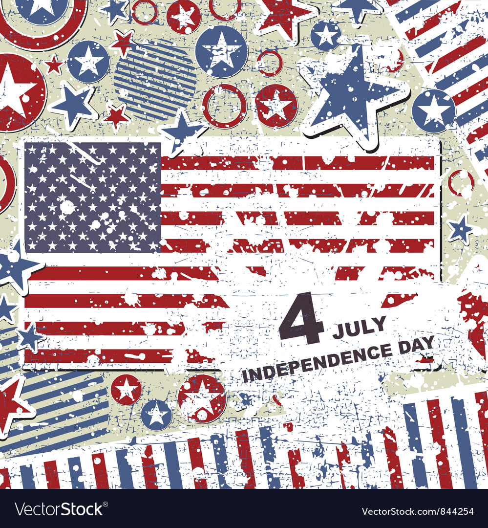 4 july vector | Price: 1 Credit (USD $1)