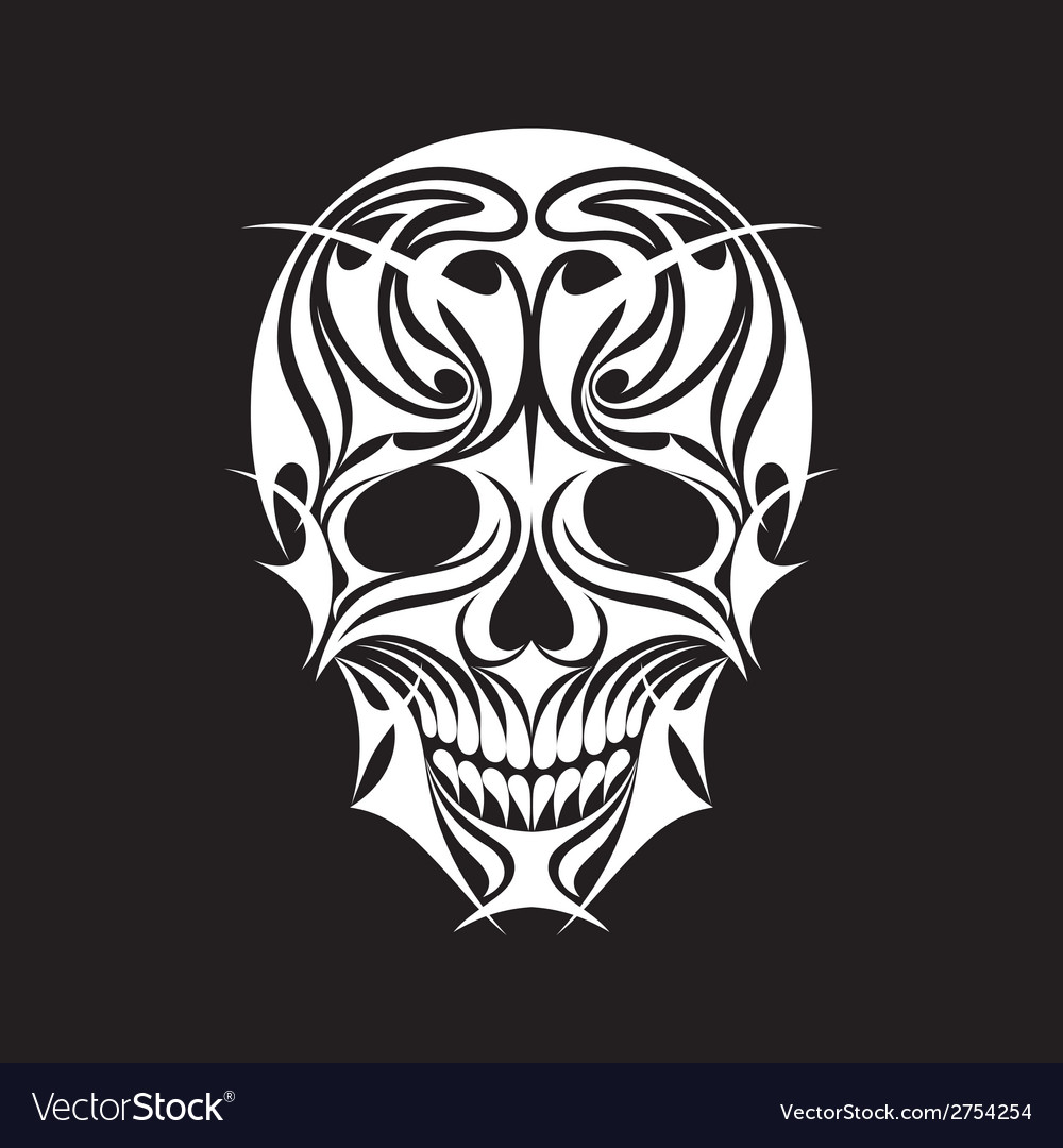 Abstract scull vector | Price: 1 Credit (USD $1)