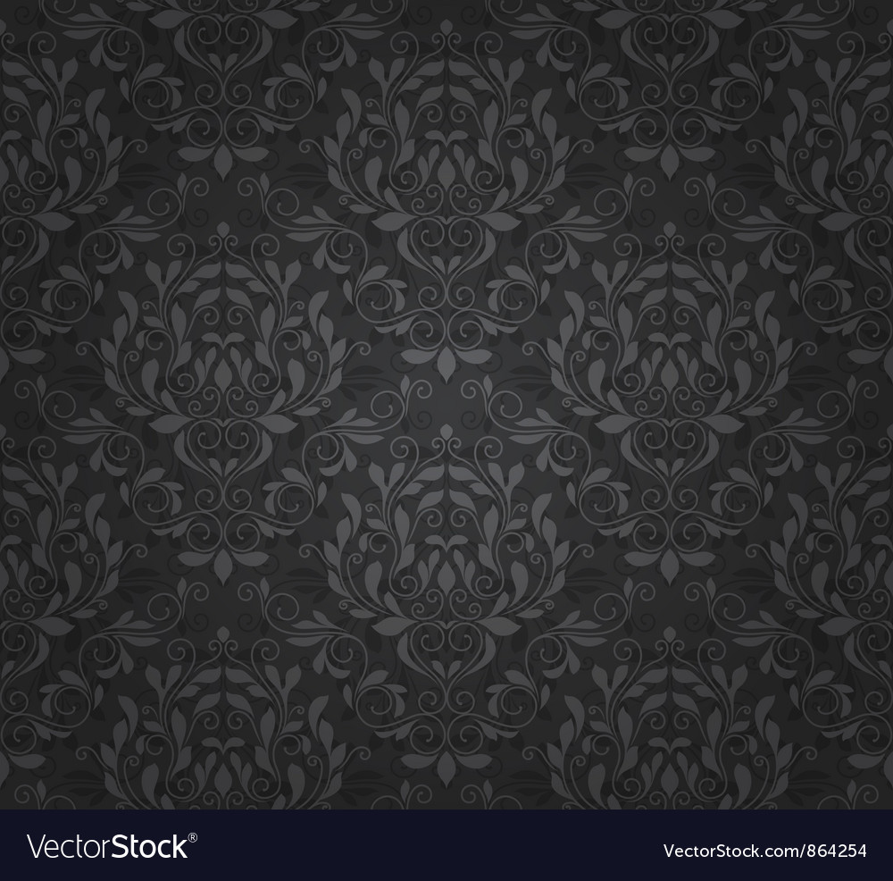 Damask seamless pattern vector   Price: 1 Credit (USD $1)