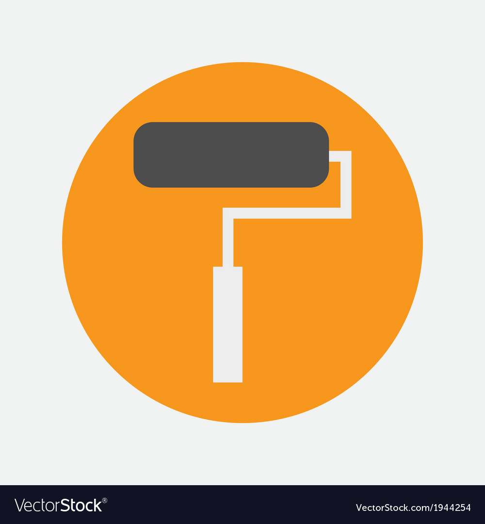 Roller icon vector | Price: 1 Credit (USD $1)