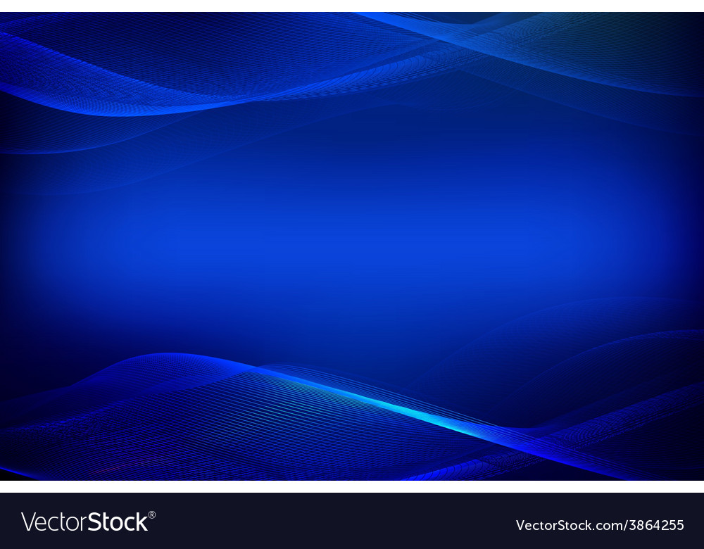 Abstract blue background of glowing lines vector | Price: 1 Credit (USD $1)