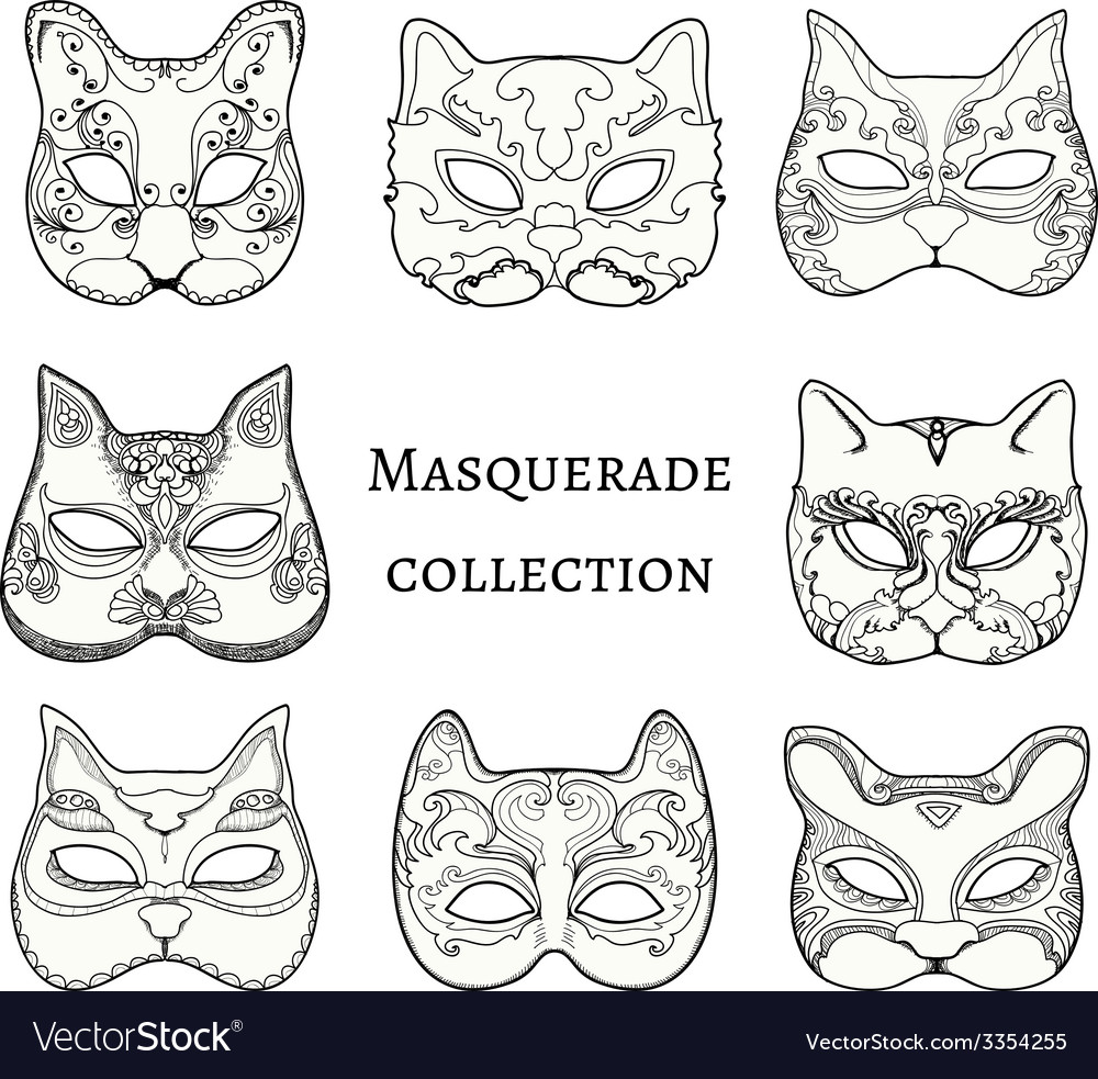 Masquerade vector | Price: 1 Credit (USD $1)