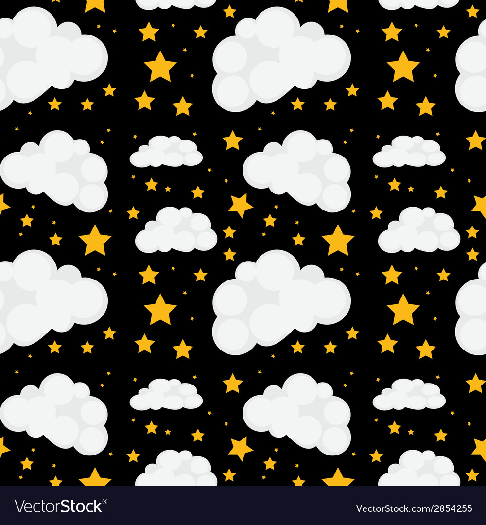 Seamless stars vector | Price: 1 Credit (USD $1)