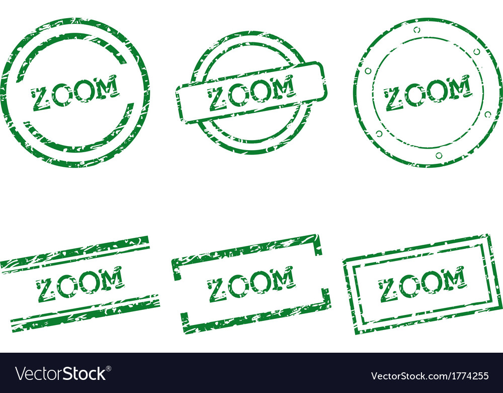 Zoom stamps vector | Price: 1 Credit (USD $1)