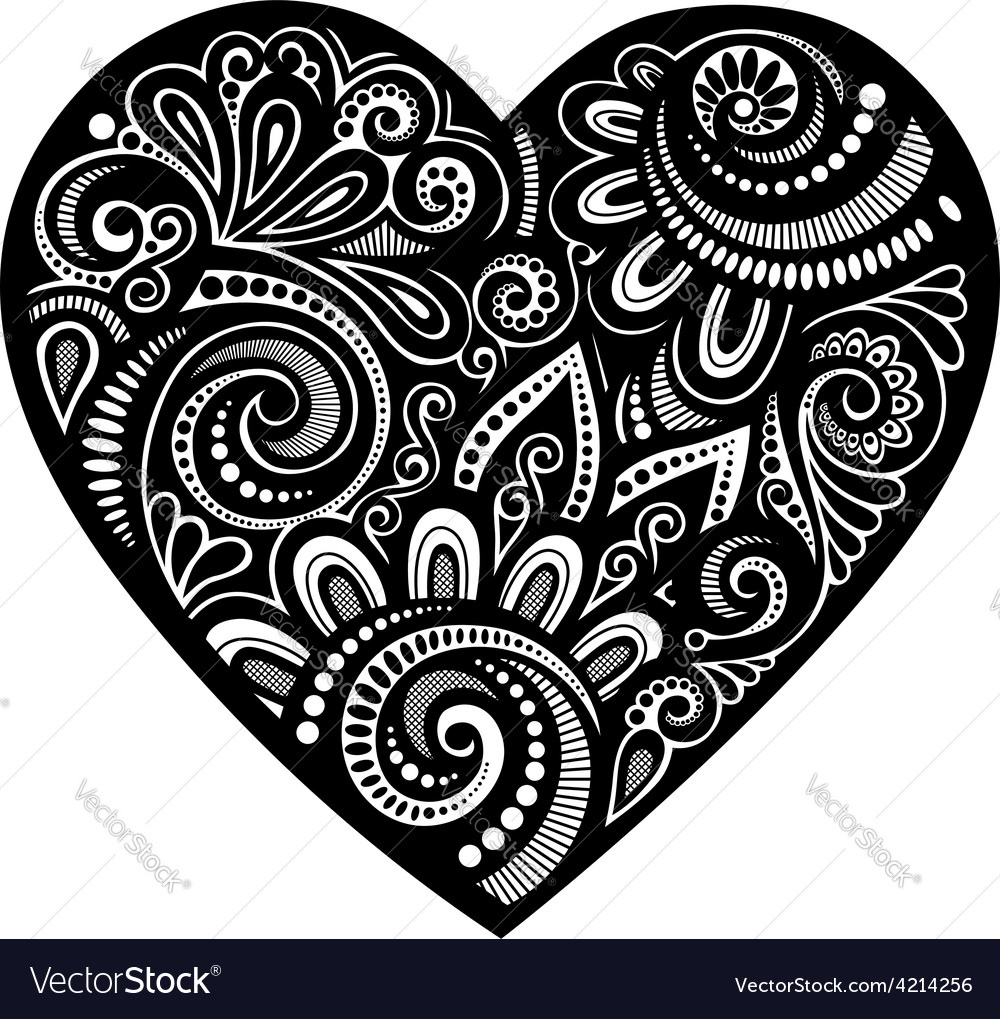 Abstract heart design vector | Price: 1 Credit (USD $1)