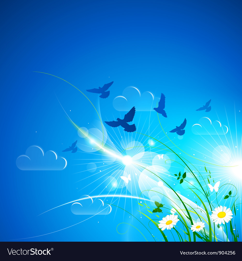 Blue background vector | Price: 3 Credit (USD $3)